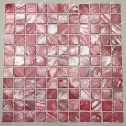 Mother of pearl tiles and...