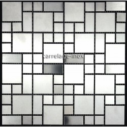 stainless steel tiles kitchen backsplash mi-lof