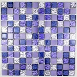 mosaico para baño y ducha de vidrio y aluminio ma-nom-vio