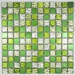 mosaico per bagno e doccia in vetro e alluminio ma-nom-ver