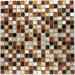 mosaic for bathroom and shower glass and aluminum ma-slo-mok