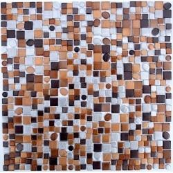 Tile mosaic aluminium ma-tren-mar