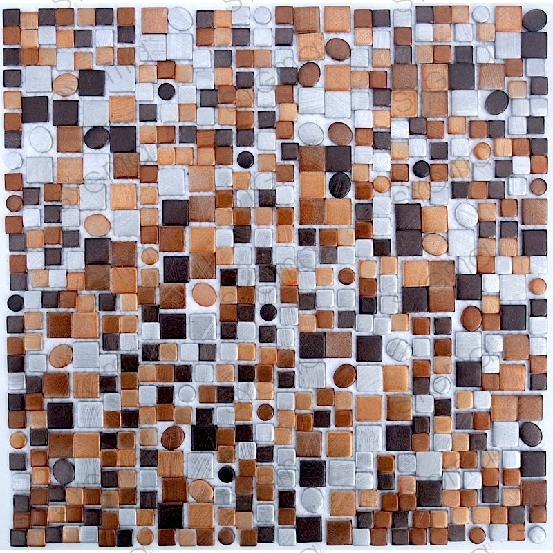 Telha de mosaico de alumínio ma-tren-mar