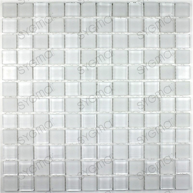 mosaico de vidrio para pared y suelo mv-mat-bla23 - Sygma Group