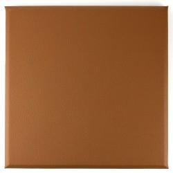 dalle en similicuir pour mur carreau cuir pan-sim-3030-gri