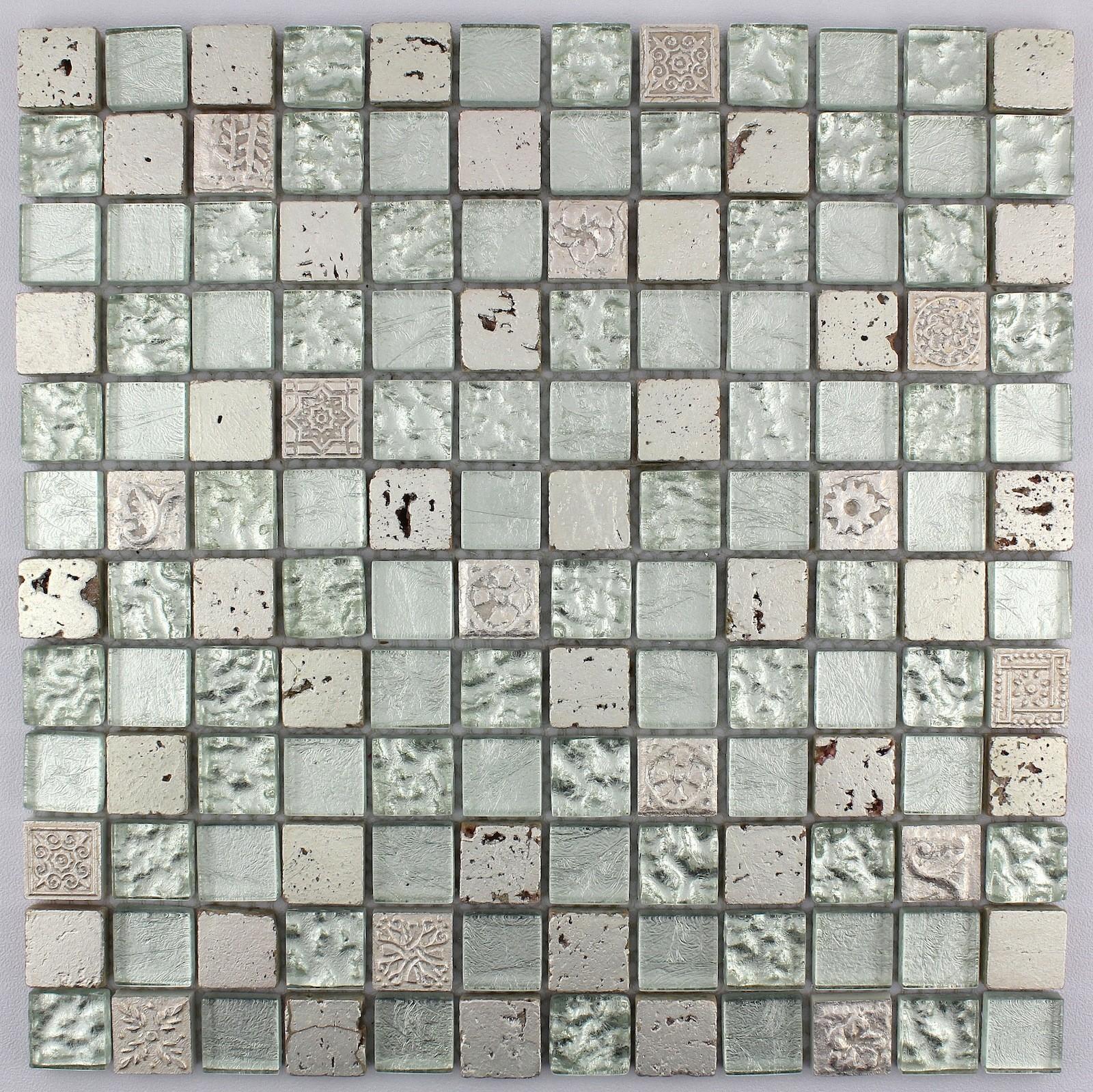 mosaicos para bao excellent hmgmd espejo azulejos de mosaico de