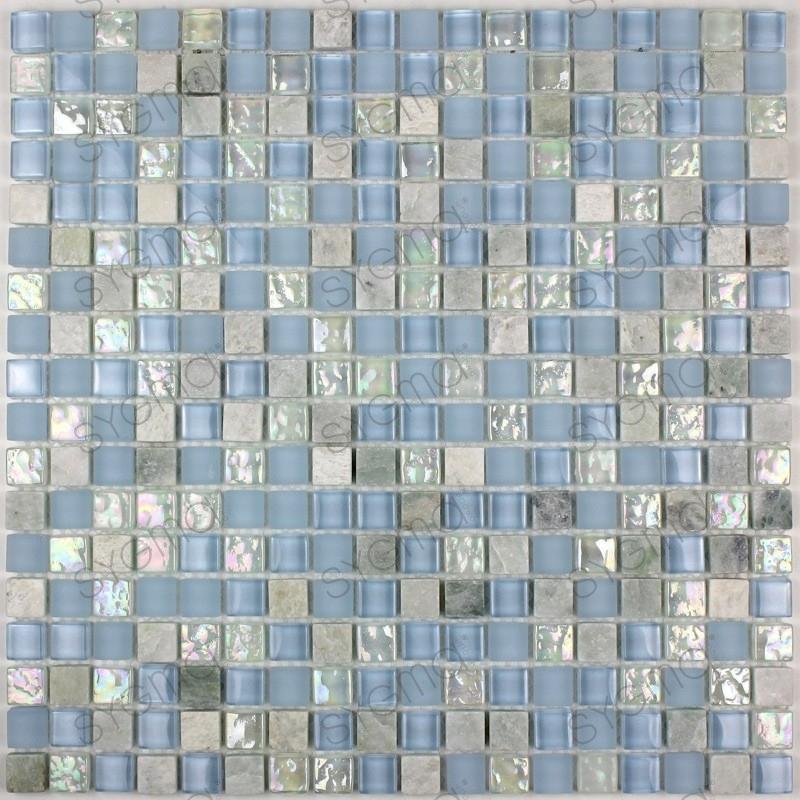 Mosaique salle de bain et douche mvep-lagon