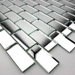 Mosaik spiegelglas für Dusche und Badewanne Cristal