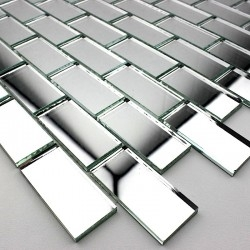 specchio mosaico in vetro doccia e bagno mv-ref-bri-neu