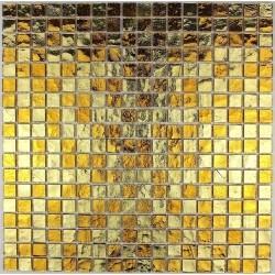 mosaique pour mur et sol en verre mv-glo-gol