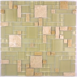 baldosas de mosaico de vidrio y piedra mvp-lut-sab