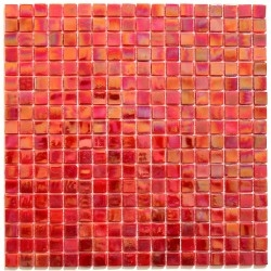 Glass mosaic Imperial Rouge
