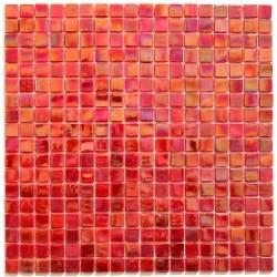 mosaique pâte de verre Imperial Rouge
