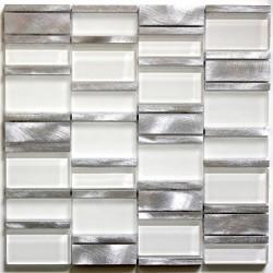 mosaico para banheiro e box de vidro e alumínio ma-cet-bla