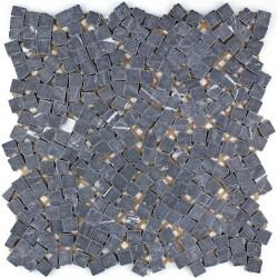 Mosaico in marmo pavimentazione in marmo syg-mp-lul-noi