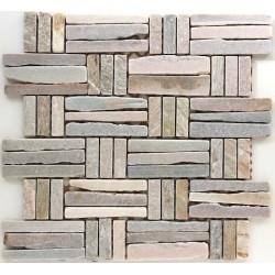 Mosaik im Stein für Boden und Wand syg-mp-ede