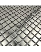 Mosaico de aço inoxidável - telhas de aço inoxidável